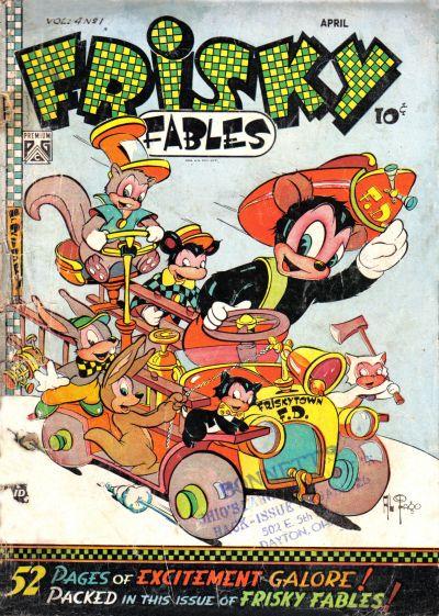 Cover for Frisky Fables (Novelty / Premium / Curtis, 1945 series) #v4#1 [28]