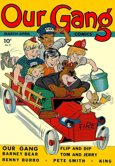 Cover for Our Gang Comics (Dell, 1942 series) #4