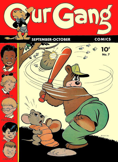 Cover for Our Gang Comics (Dell, 1942 series) #7
