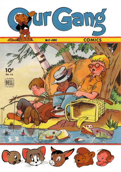 Cover for Our Gang Comics (Dell, 1942 series) #11