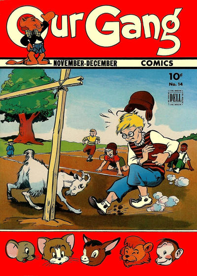 Cover for Our Gang Comics (Dell, 1942 series) #14