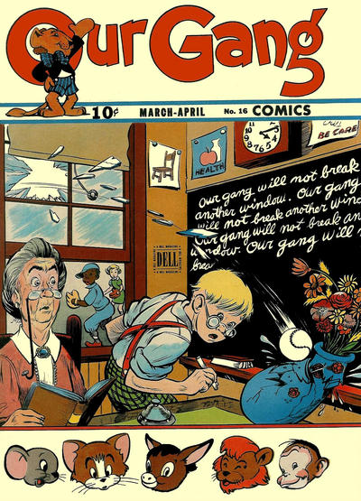 Cover for Our Gang Comics (Dell, 1942 series) #16
