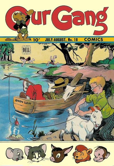 Cover for Our Gang Comics (Dell, 1942 series) #18