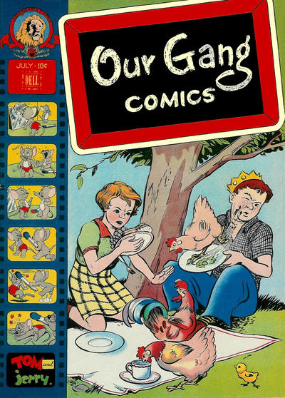 Cover for Our Gang Comics (Dell, 1942 series) #36