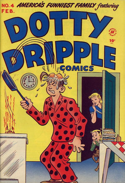 Cover for Dotty Dripple (Harvey, 1948 series) #4