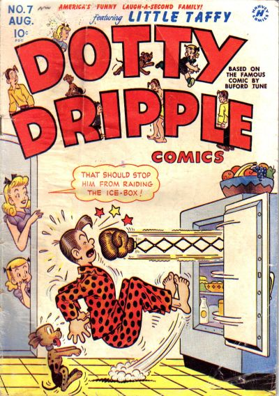 Cover for Dotty Dripple (Harvey, 1946 series) #7
