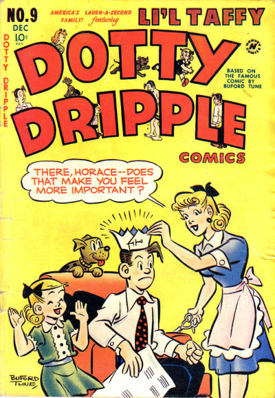 Cover for Dotty Dripple (Harvey, 1948 series) #9