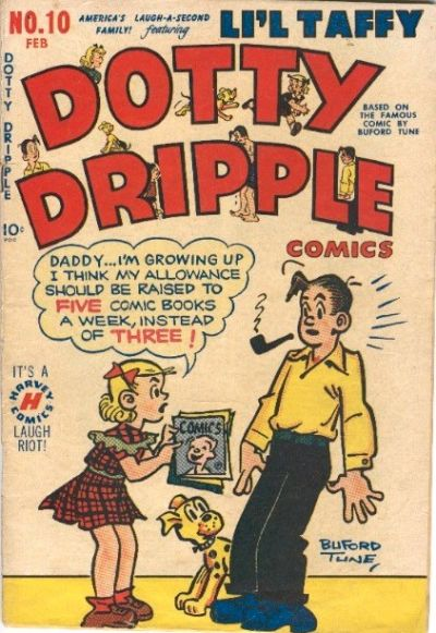Cover for Dotty Dripple (Harvey, 1948 series) #10