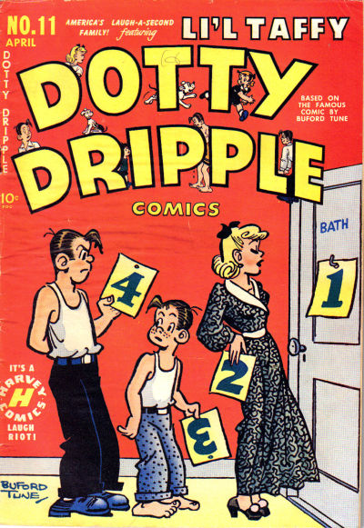 Cover for Dotty Dripple (Harvey, 1948 series) #11