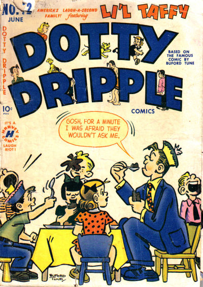 Cover for Dotty Dripple (Harvey, 1948 series) #12