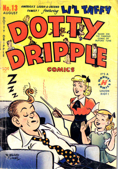 Cover for Dotty Dripple (Harvey, 1948 series) #13