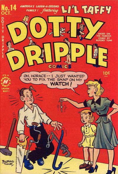 Cover for Dotty Dripple (Harvey, 1948 series) #14