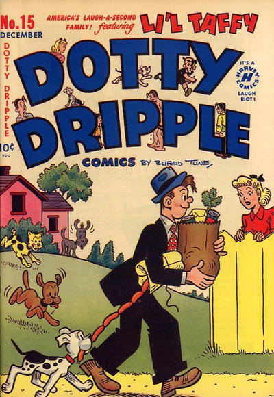 Cover for Dotty Dripple (Harvey, 1946 series) #15