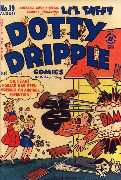Cover for Dotty Dripple (Harvey, 1946 series) #19