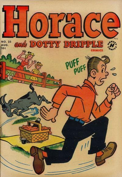 Cover for Horace & Dotty Dripple (Harvey, 1952 series) #25