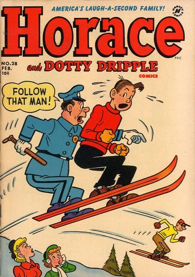 Cover for Horace & Dotty Dripple (Harvey, 1952 series) #28