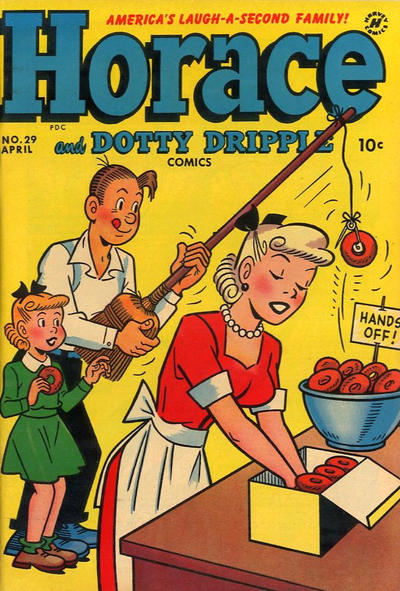 Cover for Horace & Dotty Dripple (Harvey, 1952 series) #29