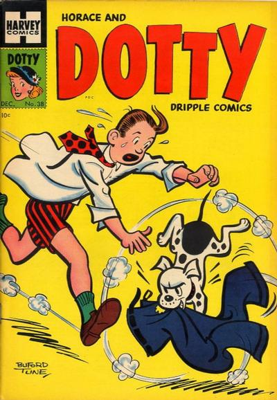 Cover for Horace & Dotty Dripple (Harvey, 1952 series) #38
