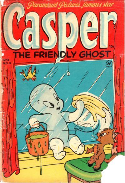 Cover for Casper the Friendly Ghost (Harvey, 1952 series) #9