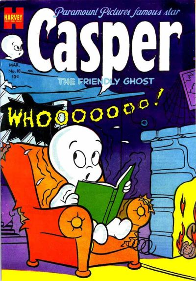 Cover for Casper the Friendly Ghost (Harvey, 1952 series) #18