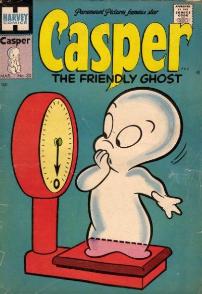 Cover for Casper the Friendly Ghost (Harvey, 1952 series) #30