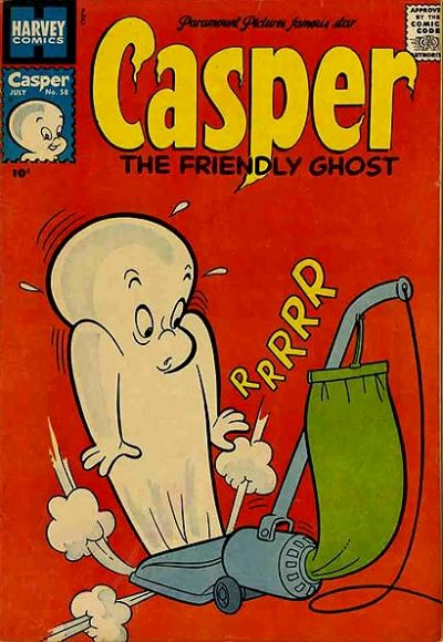 Cover for Casper the Friendly Ghost (Harvey, 1952 series) #58