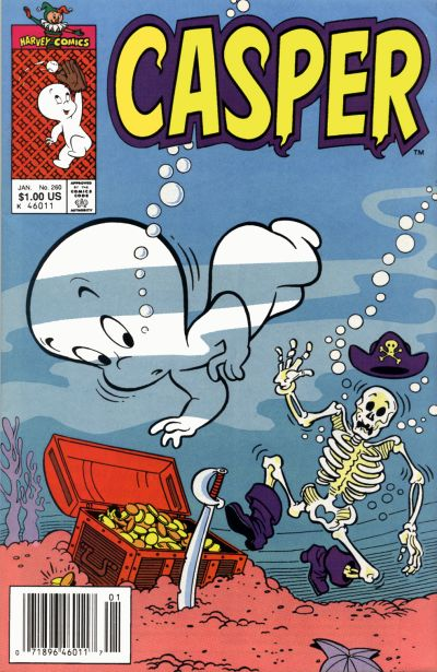 Cover for Casper the Friendly Ghost (Harvey, 1990 series) #260