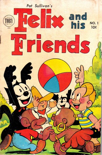 Cover for Felix and His Friends (Toby, 1953 series) #1