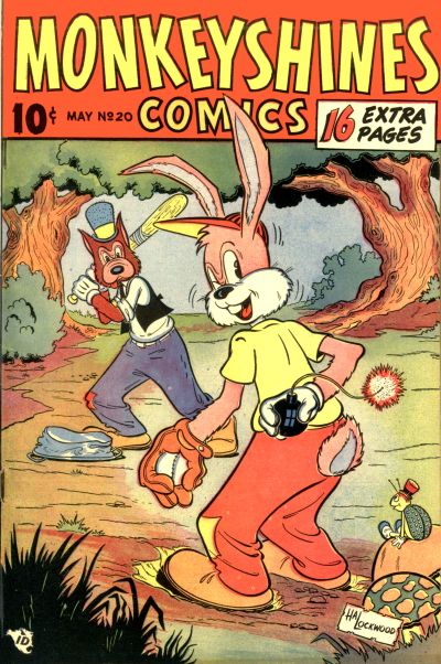 Cover for Monkeyshines Comics (Ace Magazines, 1944 series) #20
