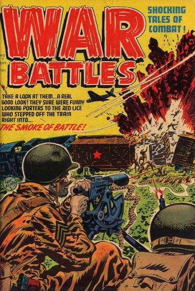Cover for War Battles (Harvey, 1952 series) #7