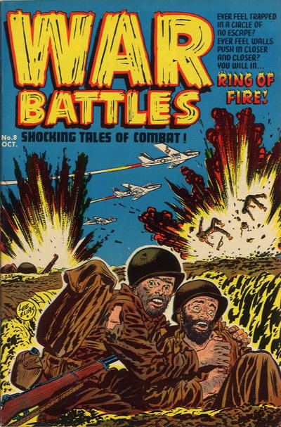 Cover for War Battles (Harvey, 1952 series) #8