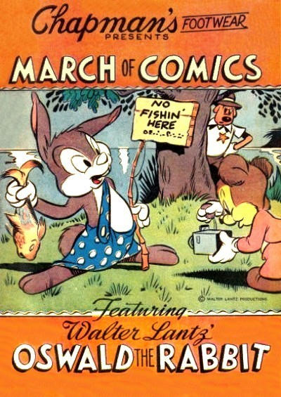 Cover for Boys' and Girls' March of Comics (Western, 1946 series) #7 [Chapman's Footwear variant]