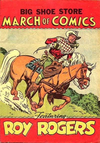 Cover for March of Comics (Western, 1946 series) #73