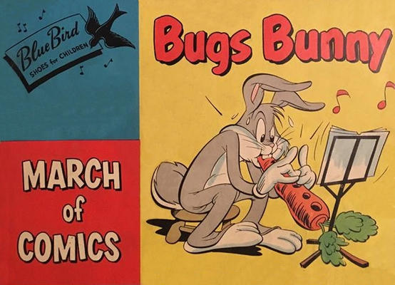 Cover for March of Comics (Western, 1946 series) #83
