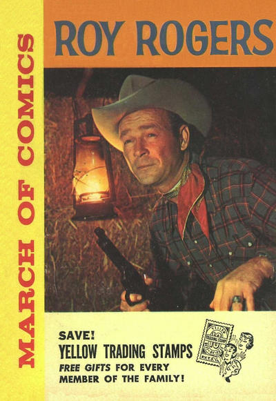 Cover for March of Comics (Western, 1946 series) #206