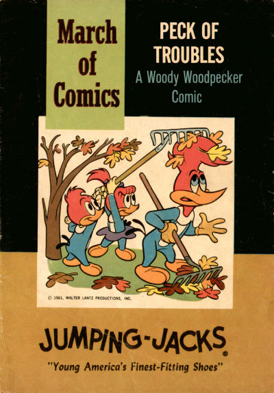 Cover for Boys' and Girls' March of Comics (Western, 1946 series) #222 [Blank Cover Variant]