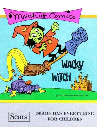 Cover for Boys' and Girls' March of Comics (Western, 1946 series) #410 [non-ad variant]