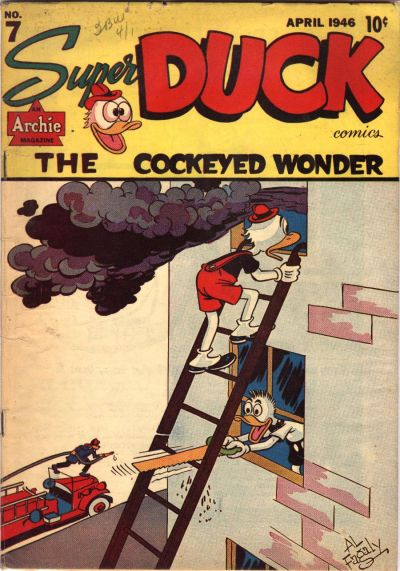 Cover for Super Duck Comics (Archie, 1944 series) #7