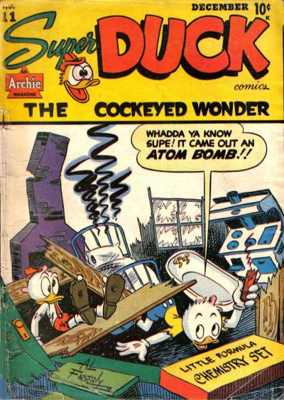 Cover for Super Duck Comics (Archie, 1944 series) #11