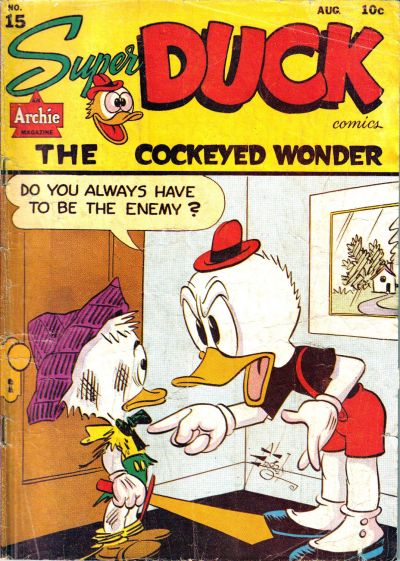 Cover for Super Duck Comics (Archie, 1944 series) #15