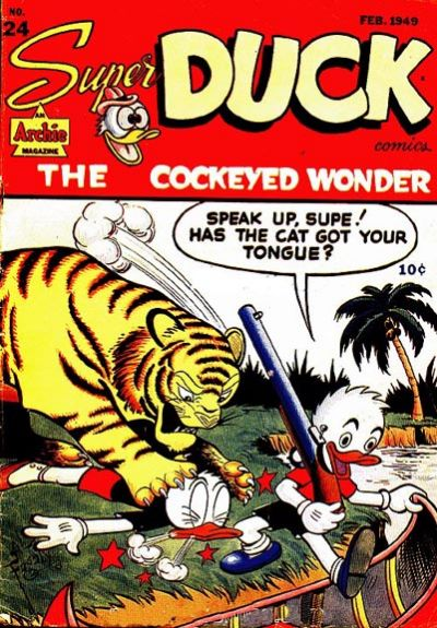 Cover for Super Duck Comics (Archie, 1944 series) #24