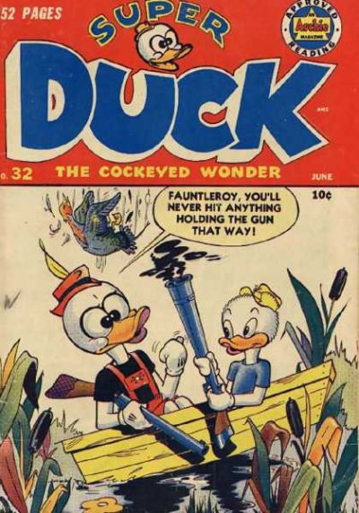 Cover for Super Duck Comics (Archie, 1944 series) #32