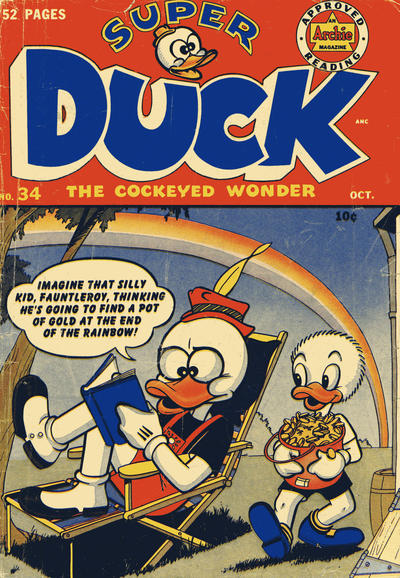 Cover for Super Duck Comics (Archie, 1944 series) #34