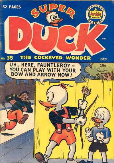 Cover for Super Duck Comics (Archie, 1944 series) #35