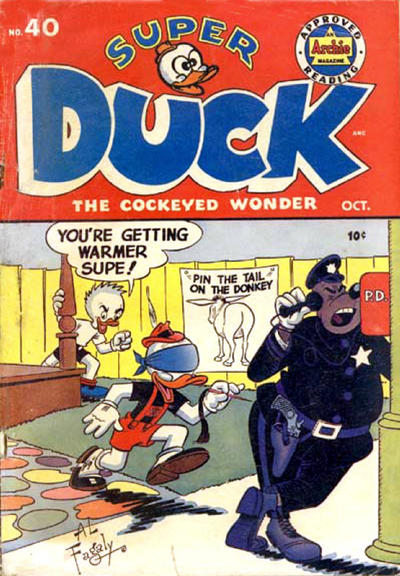 Cover for Super Duck Comics (Archie, 1944 series) #40