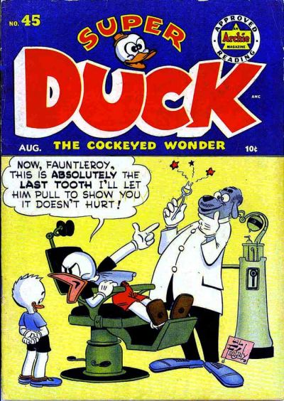 Cover for Super Duck Comics (Archie, 1944 series) #45