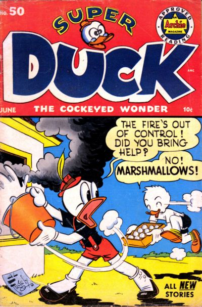 Cover for Super Duck Comics (Archie, 1944 series) #50