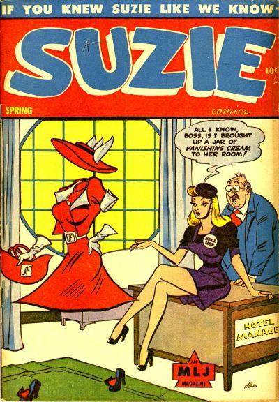 Cover for Suzie Comics (Archie, 1945 series) #49