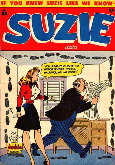 Cover for Suzie Comics (Archie, 1945 series) #55