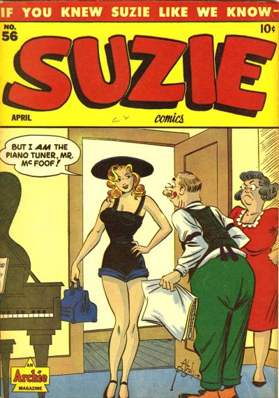 Cover for Suzie Comics (Archie, 1945 series) #56
